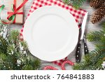 Christmas Dinner Table Setting...