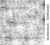 monochrome grunge texture. old... | Shutterstock . vector #764842663