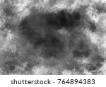 watercolor spot texture... | Shutterstock . vector #764894383