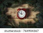 Christmas Composition. Postcar...