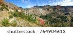panorama of the vegetation...   Shutterstock . vector #764904613