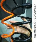 Small photo of Wind and cool air hose in cnc machine