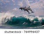 sea water background. two...   Shutterstock . vector #764996437