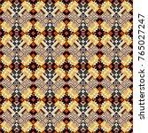 seamless geometric pattern ... | Shutterstock . vector #765027247