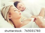 people  rest and relationships... | Shutterstock . vector #765031783