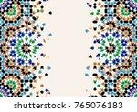 morocco disintegration template.... | Shutterstock .eps vector #765076183
