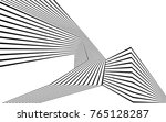 black and white stripe line... | Shutterstock .eps vector #765128287