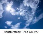 sky   sun   cloud | Shutterstock . vector #765131497