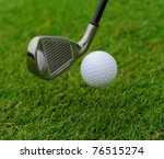 golf tee ball club driver in... | Shutterstock . vector #76515274