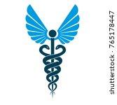 caduceus medical symbol ... | Shutterstock .eps vector #765178447