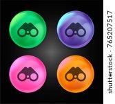 binoculars crystal ball design...