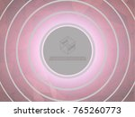 abstract low poly triangular... | Shutterstock .eps vector #765260773