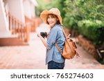 traveler and tourist asian...   Shutterstock . vector #765274603