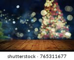 christmas and new year concept. ... | Shutterstock . vector #765311677