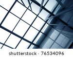 modern glass silhouettes of... | Shutterstock . vector #76534096
