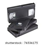 Detail Of Classic Vhs Cassette...