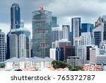 singapore financial district | Shutterstock . vector #765372787
