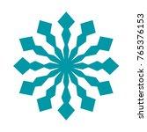 snowflake. element for winter...   Shutterstock .eps vector #765376153