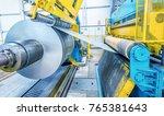 industrial machine for steel... | Shutterstock . vector #765381643