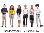 group of people | Shutterstock . vector #765464167