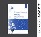 plumbing service brochure cover ...   Shutterstock .eps vector #765485527