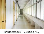 view inside the entrance to the ... | Shutterstock . vector #765565717