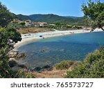 greece view of the beach near... | Shutterstock . vector #765573727