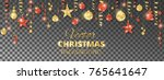 holiday background. christmas... | Shutterstock .eps vector #765641647