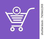 cancel order   crossed | Shutterstock .eps vector #765661243