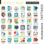 online education vector complex ... | Shutterstock .eps vector #765776323