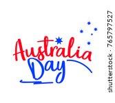 illustration of happy australia ...   Shutterstock .eps vector #765797527