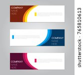 banner design for business... | Shutterstock .eps vector #765810613
