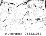 grunge black and white pattern. ... | Shutterstock . vector #765821053