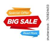 super sale  this weekend... | Shutterstock .eps vector #765824653