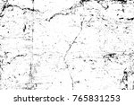 grunge black and white pattern. ... | Shutterstock . vector #765831253