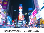new york city new york usa 8 31 ... | Shutterstock . vector #765840607