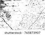 grunge black and white pattern. ... | Shutterstock . vector #765873907