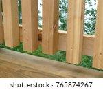 cedar deck designs and... | Shutterstock . vector #765874267
