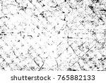 grunge black and white pattern. ... | Shutterstock . vector #765882133