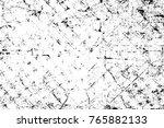 grunge black and white pattern. ... | Shutterstock . vector #765882133
