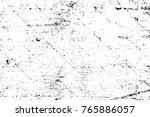 grunge black and white pattern. ... | Shutterstock . vector #765886057