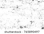 grunge black and white pattern. ... | Shutterstock . vector #765890497