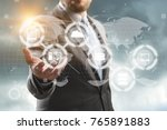 marketing  business  team. | Shutterstock . vector #765891883