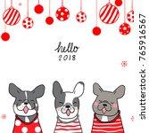 vector illustration template... | Shutterstock .eps vector #765916567