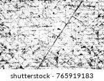grunge black and white pattern. ...   Shutterstock . vector #765919183