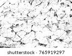 grunge black and white pattern. ... | Shutterstock . vector #765919297