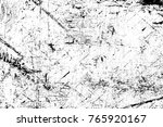 grunge black and white pattern. ... | Shutterstock . vector #765920167