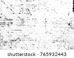 grunge black and white pattern. ... | Shutterstock . vector #765932443