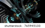 3d illustration of future... | Shutterstock . vector #765945133