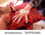 malay wedding drawing white...   Shutterstock . vector #765952483